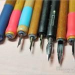 【アナログ漫画原稿】ペン先比較・ペン軸・原稿用紙・インクのこと【つけペン初心者向け】