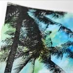 レーザープリンターで画用紙に線画を印刷・水彩絵の具で着彩してみました